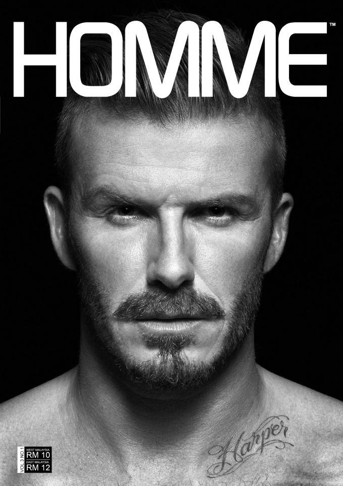 HOMME Production David Beckham